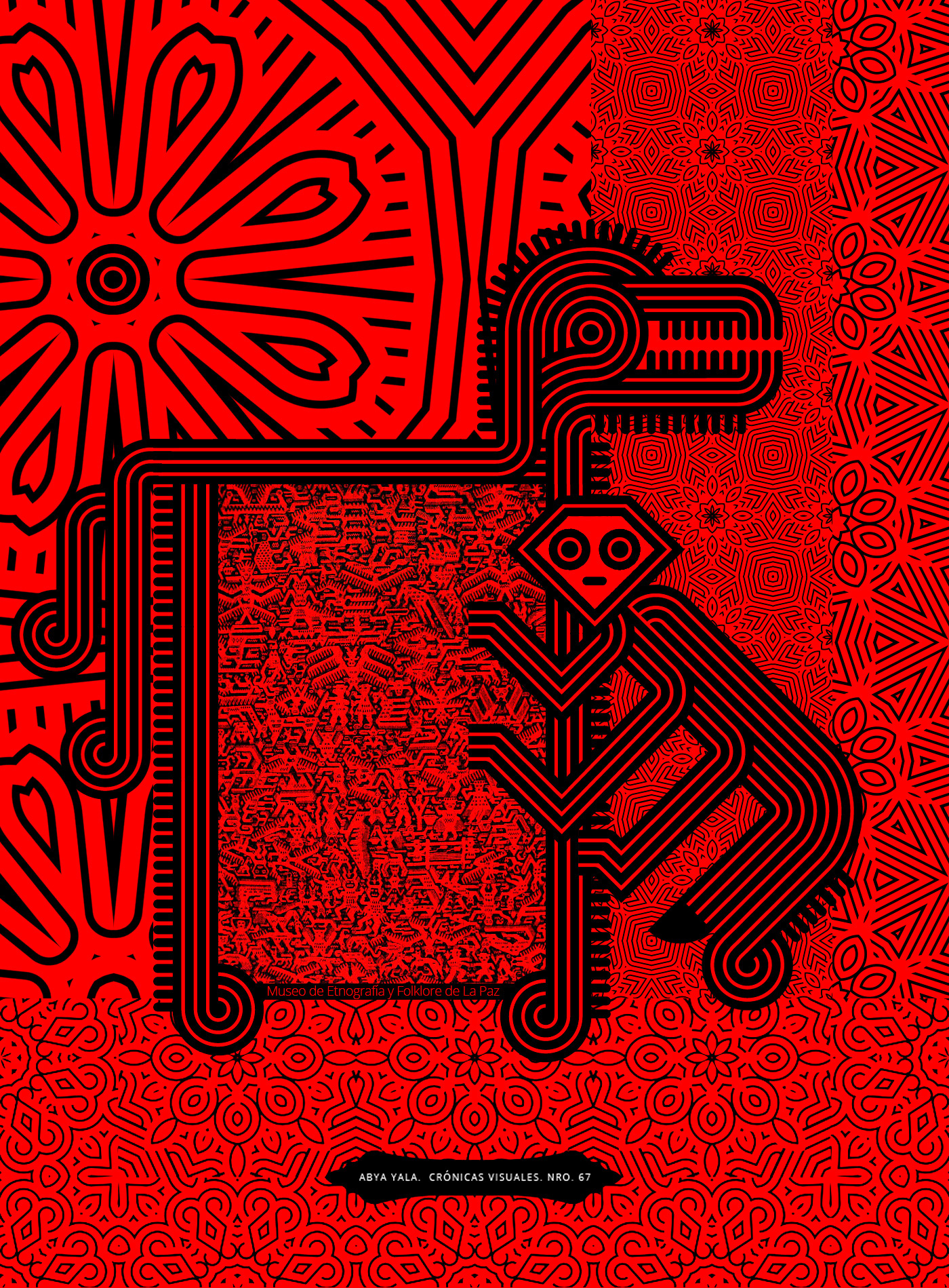 bolivia Amuki Abya Yala letras ilustradas Patrones Khurus Jalq'a