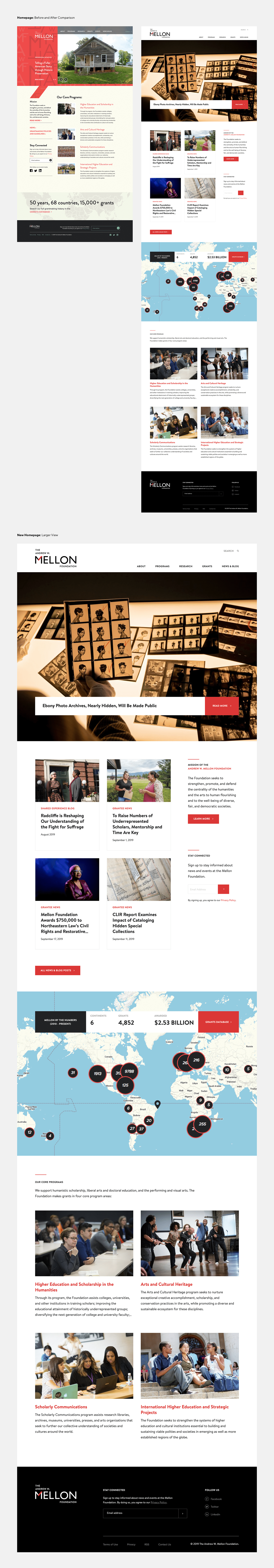 Web Design  homepage Design refresh Accessibility typography