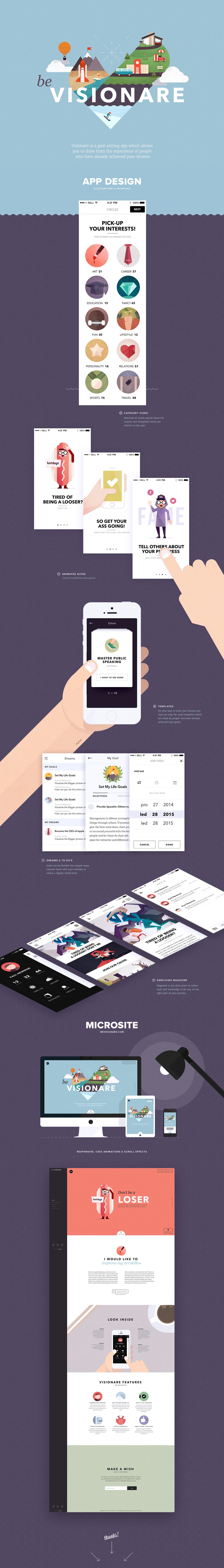 darkfejzr ios mobile app icons flat polygon iphone Web microsite