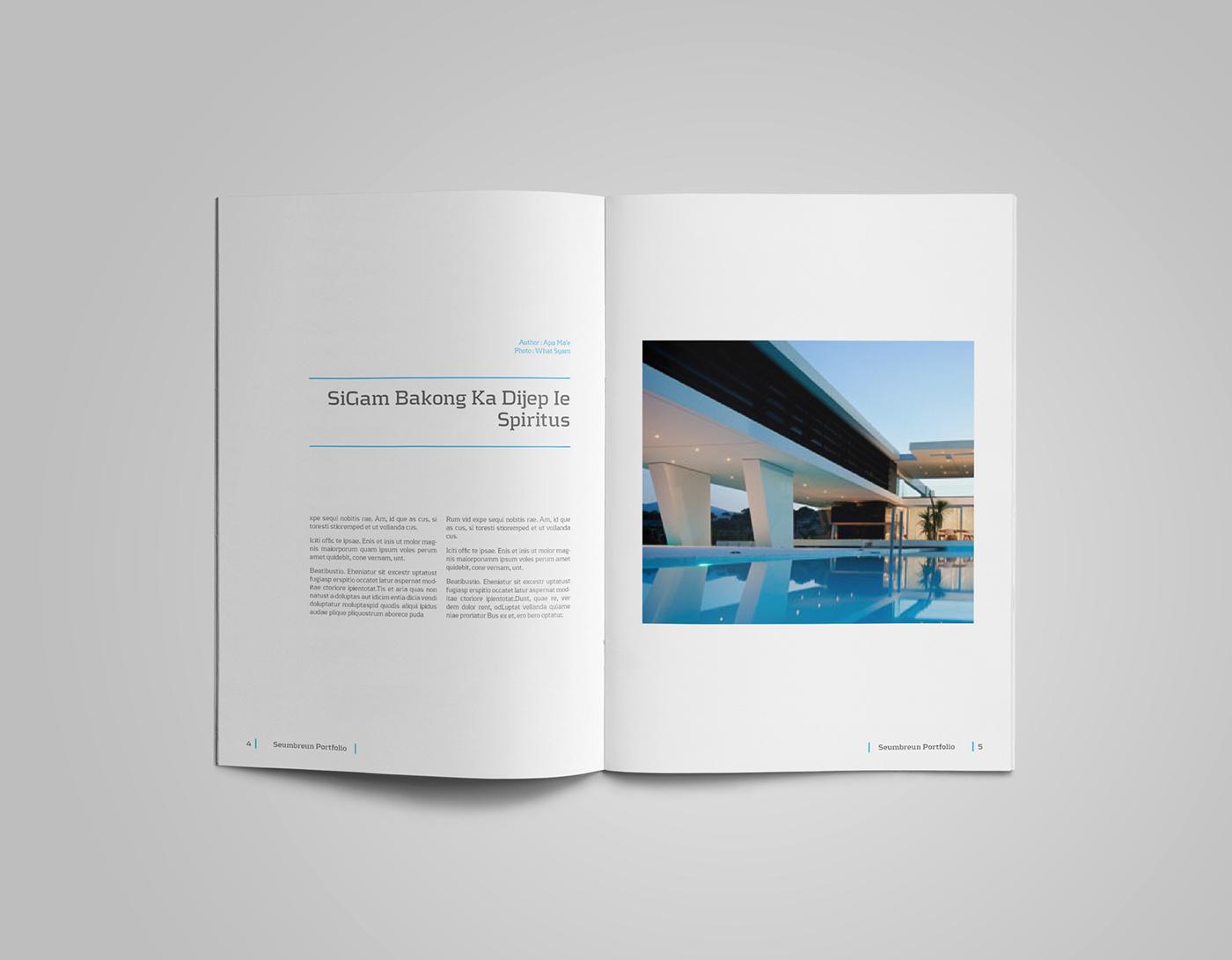 A4 and US Letter Portfolio Catalog