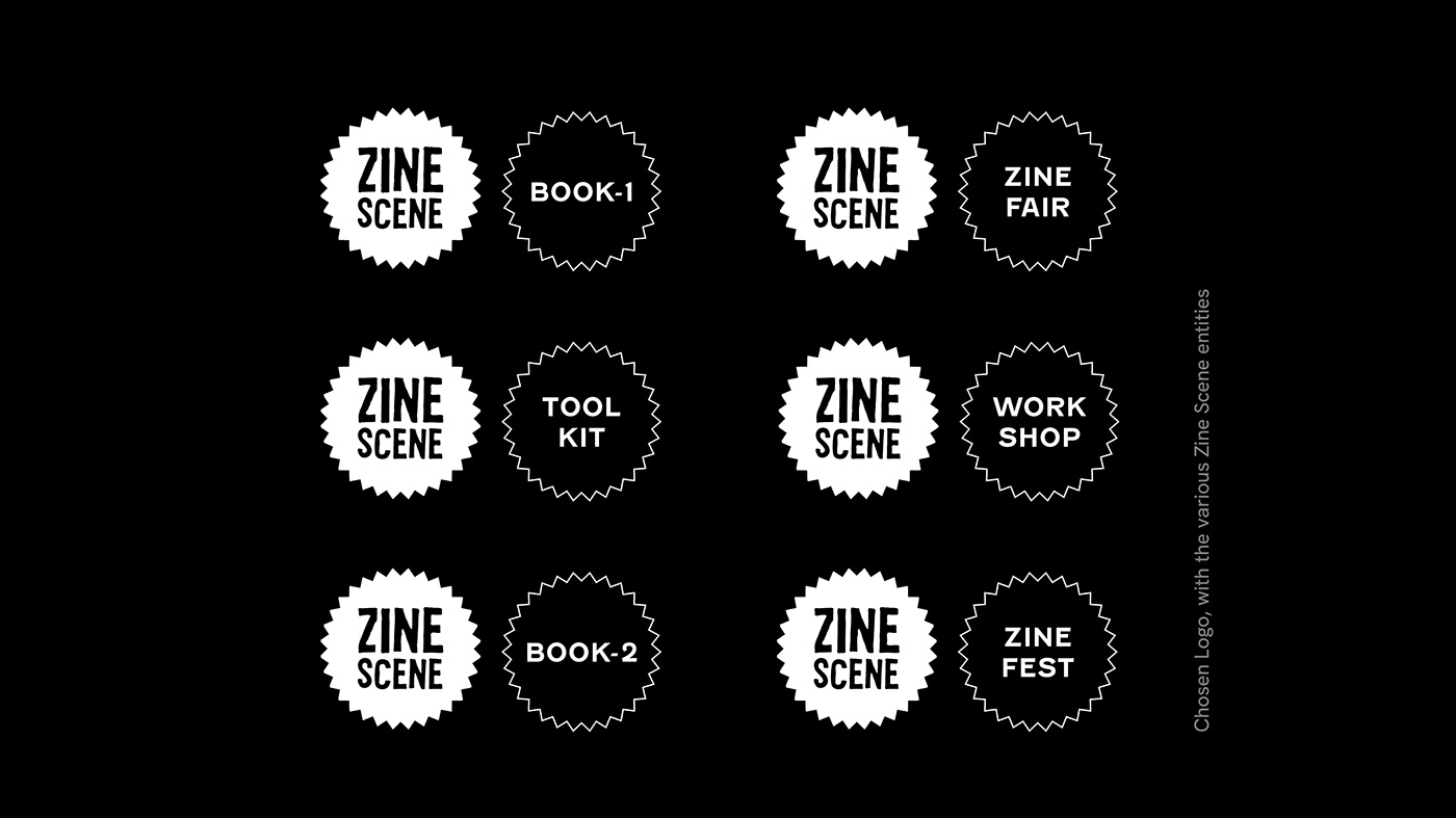 DIY Event identity toolkit Workshop Zine