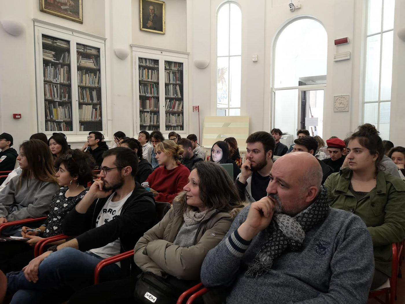 talk Xavier Jacobelli Videoconferenza Accademia Belle Arti perugia social network La comunicazione sportiva Emidio De Albentiis