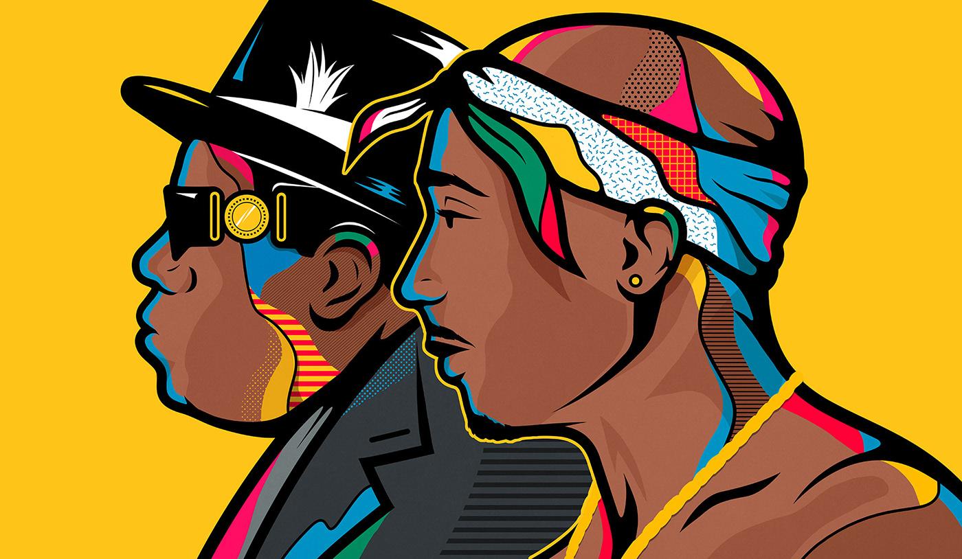 billboard music portrait inspiration hiphop rap magazine editorial