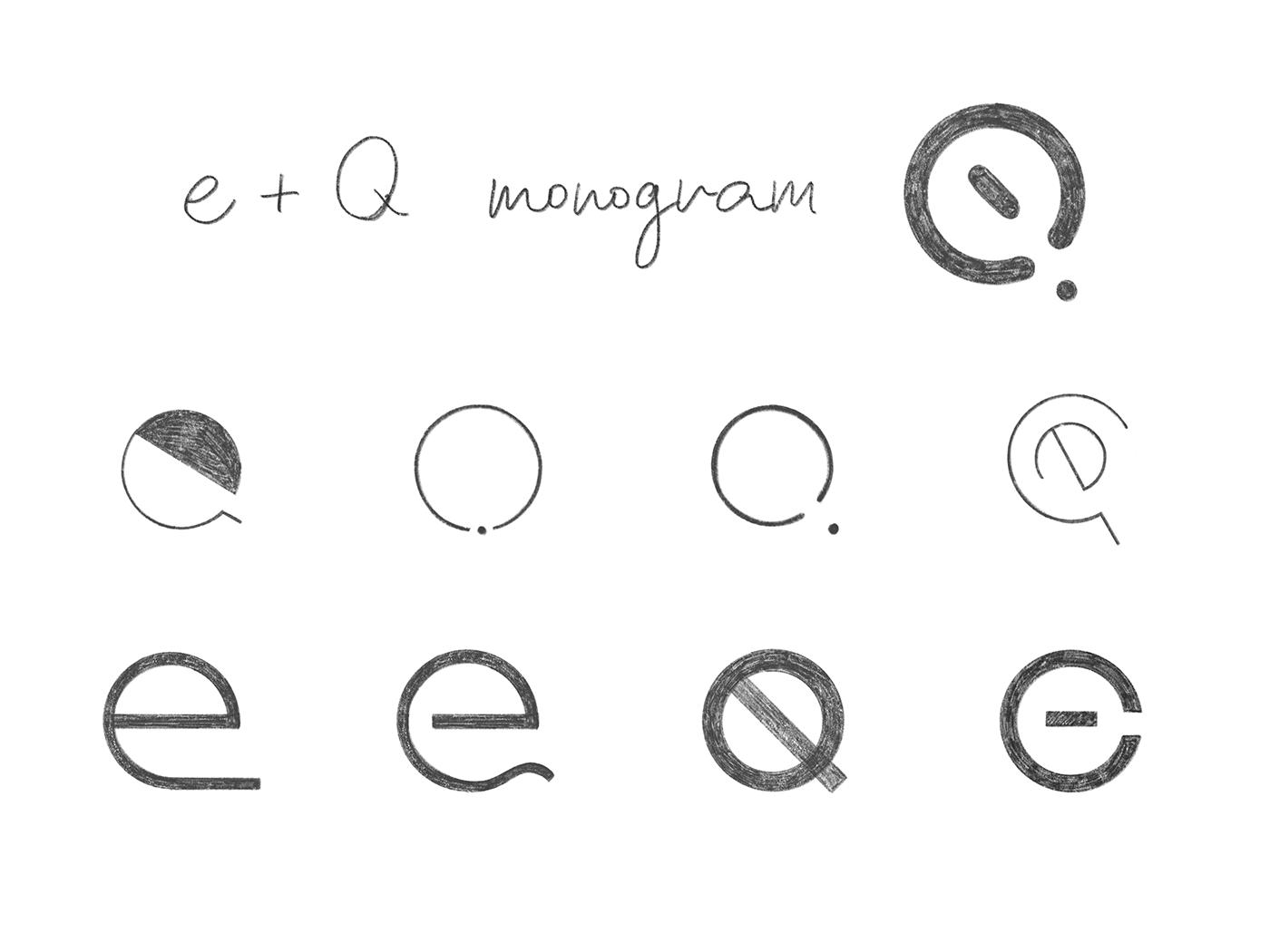 lettering branding  icon design  monogram design brand identity