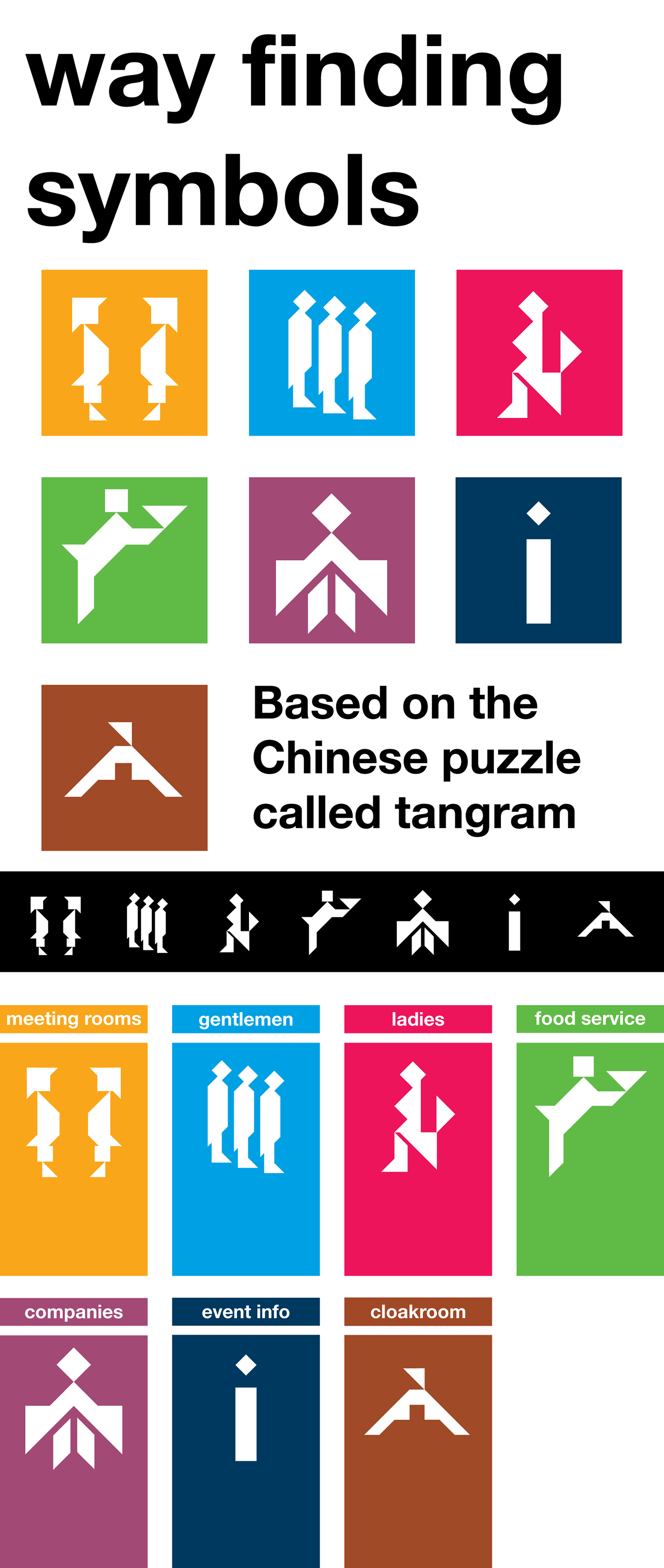 Check Out The More Like This: Wayfinding Symbols On Behance