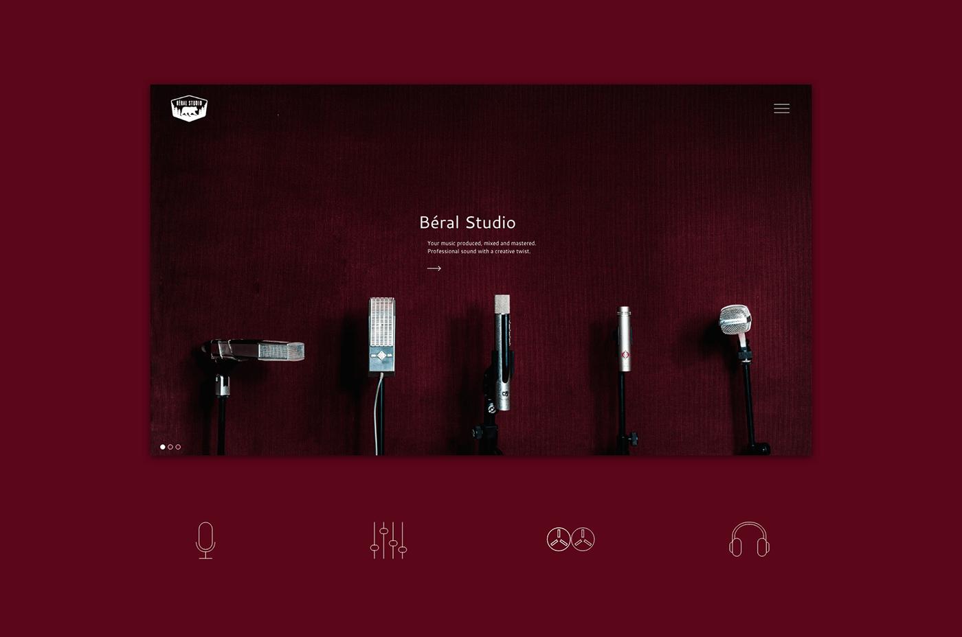 creative graphic design  icon design  interior elements recurring elements Webdesign Website