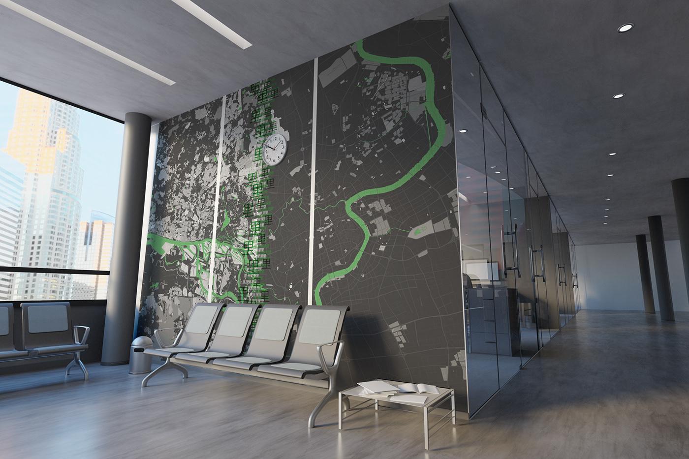 Space design,Interior,Raumgestaltung,architektur,beklebung,hamburg,shanghai,china,universität,elbe