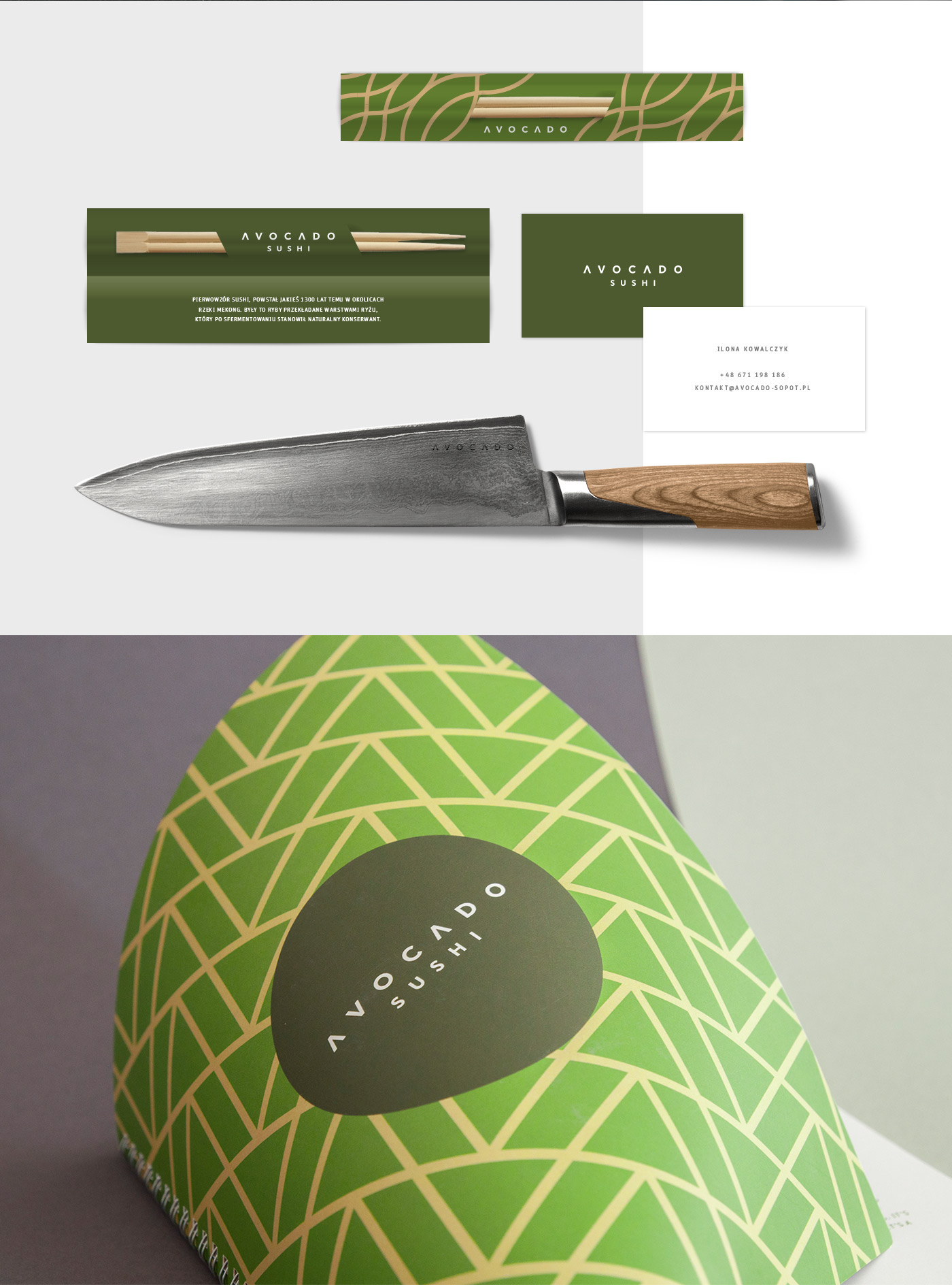 poland sopot rebranding Sushi restaurant portfolio Food