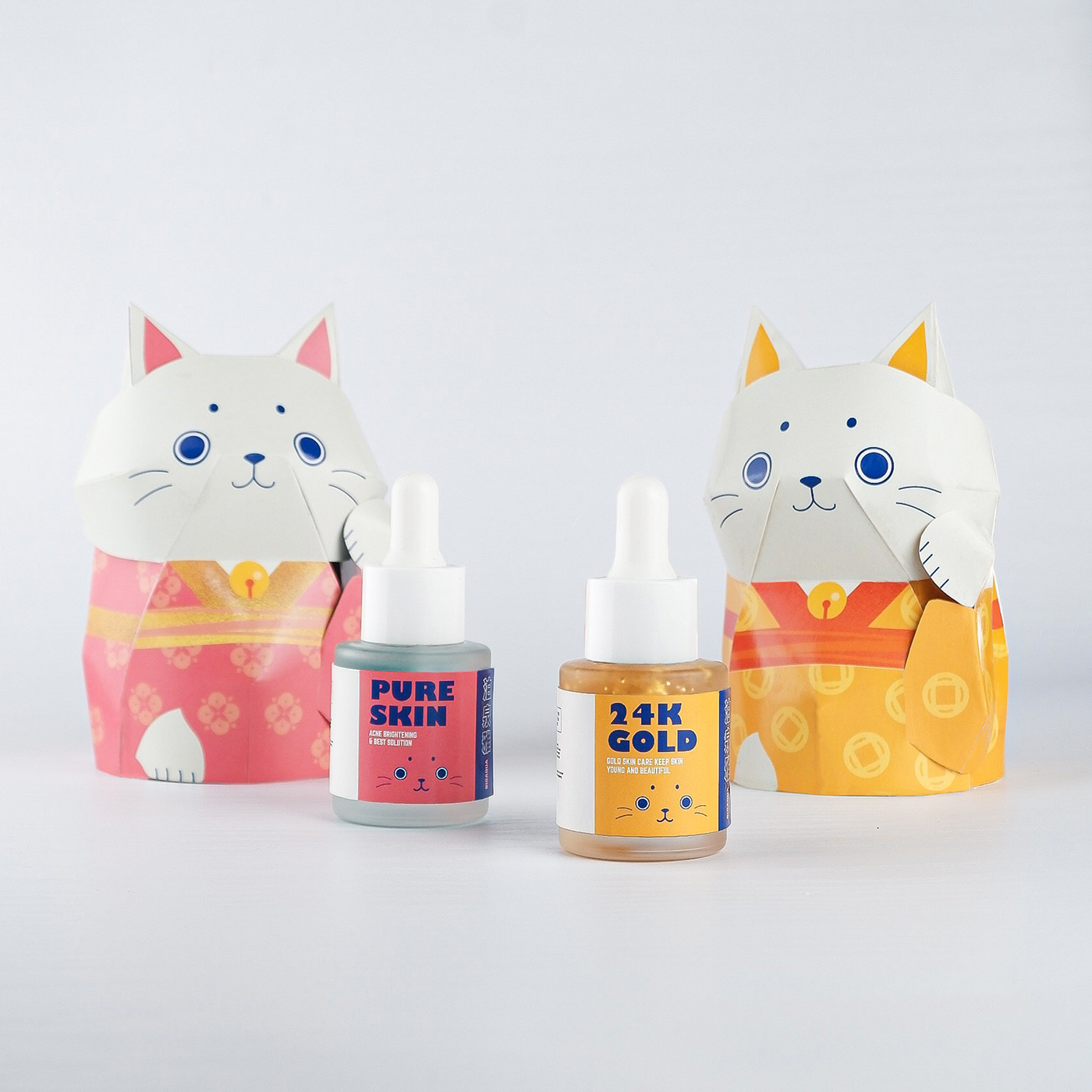 chinese creative graphic design  ILLUSTRATION  japanese Layout Packaging Photography  product skincare