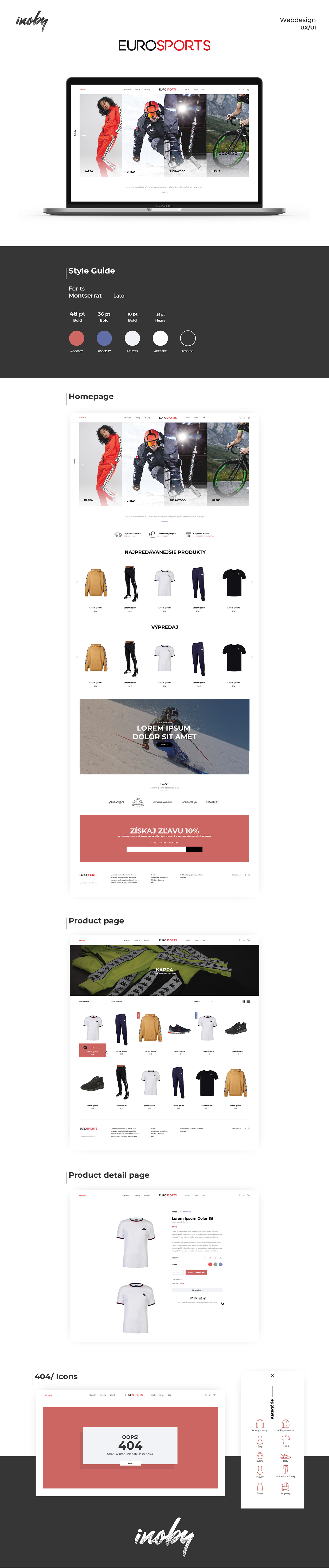 code eshop Online shop shop UI ux Webdesign Website