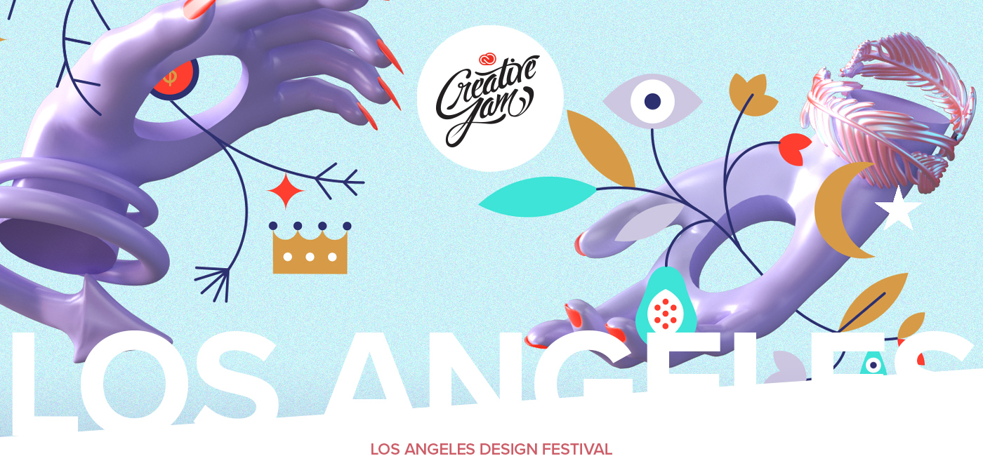Adobe creative jam,Los Angeles,LA Design Festival