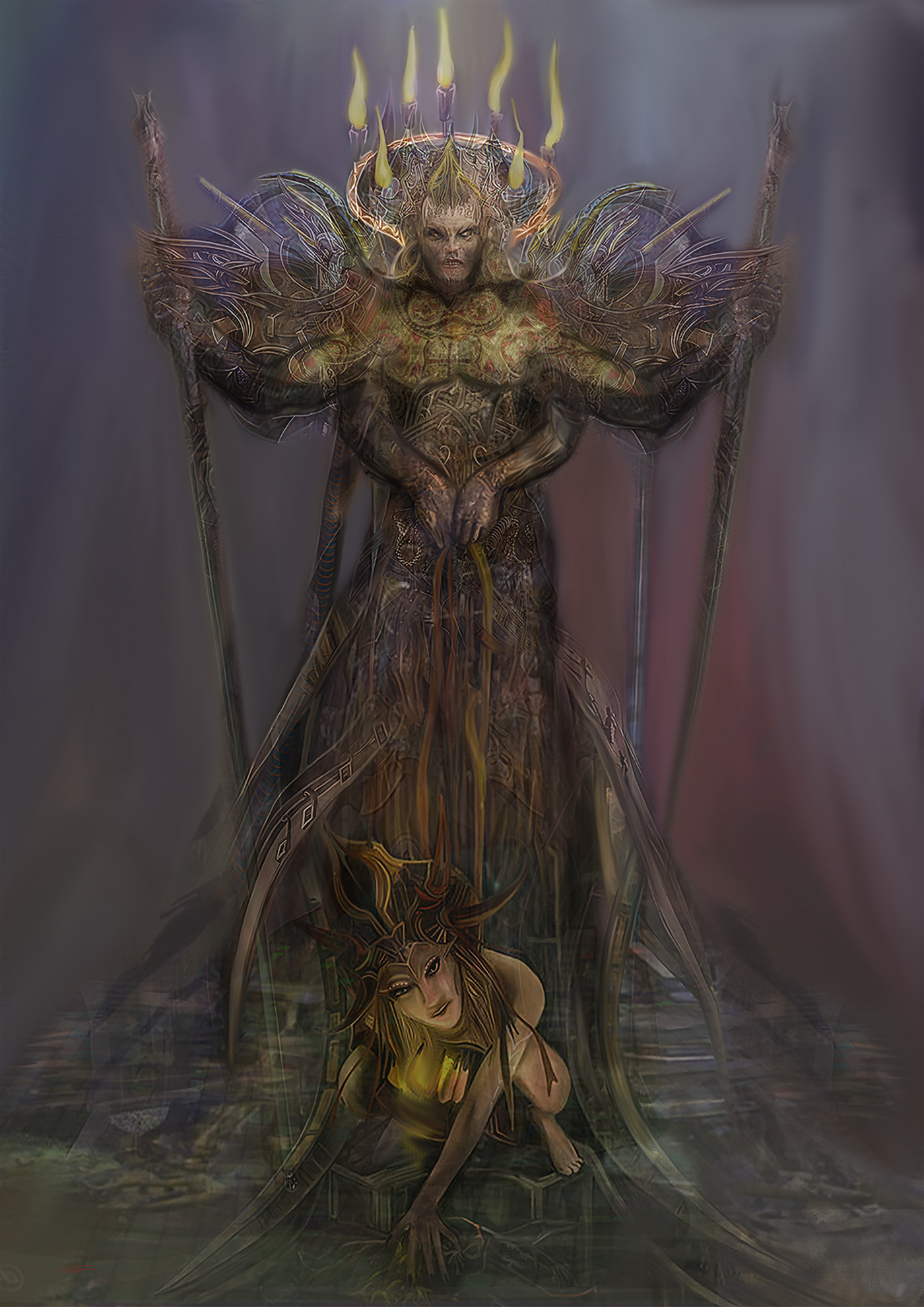 The Dark Fantasy Art of David Gaillet | Fantasy Artist