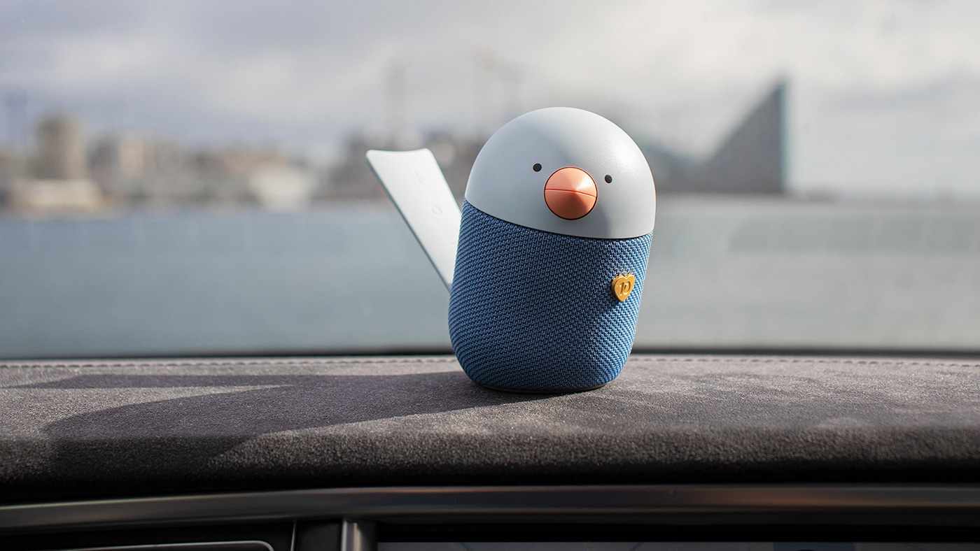 ASSISTANT bird Danish Design libratone modern Scandinavian design Smart Speaker speaker Swift Creatives voice