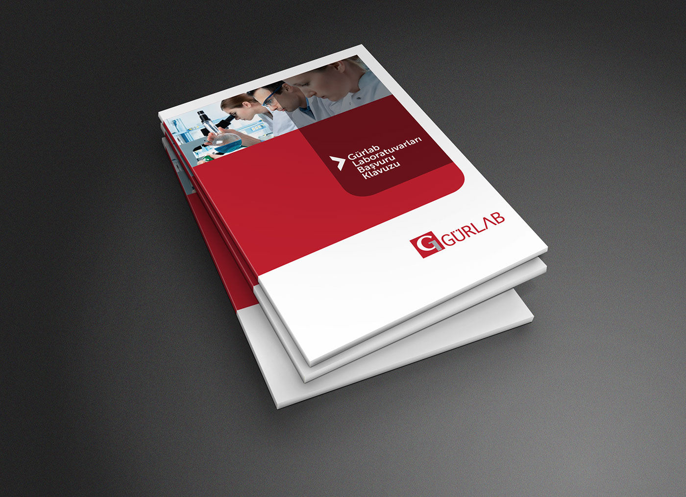 Gurlab laboratories pathology test catalog design on behance for Design katalog