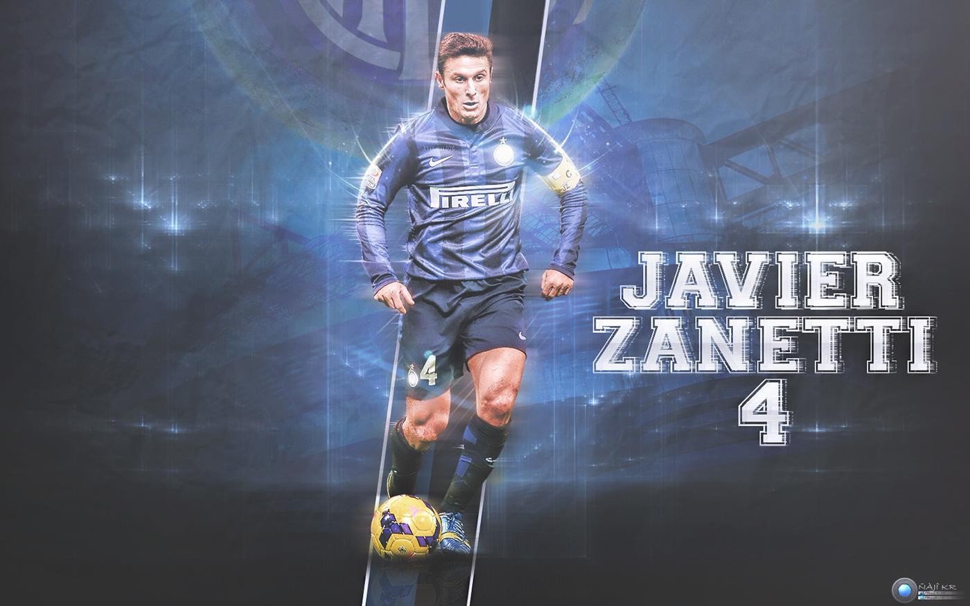 Javier Zanetti Wallpaper on Behance