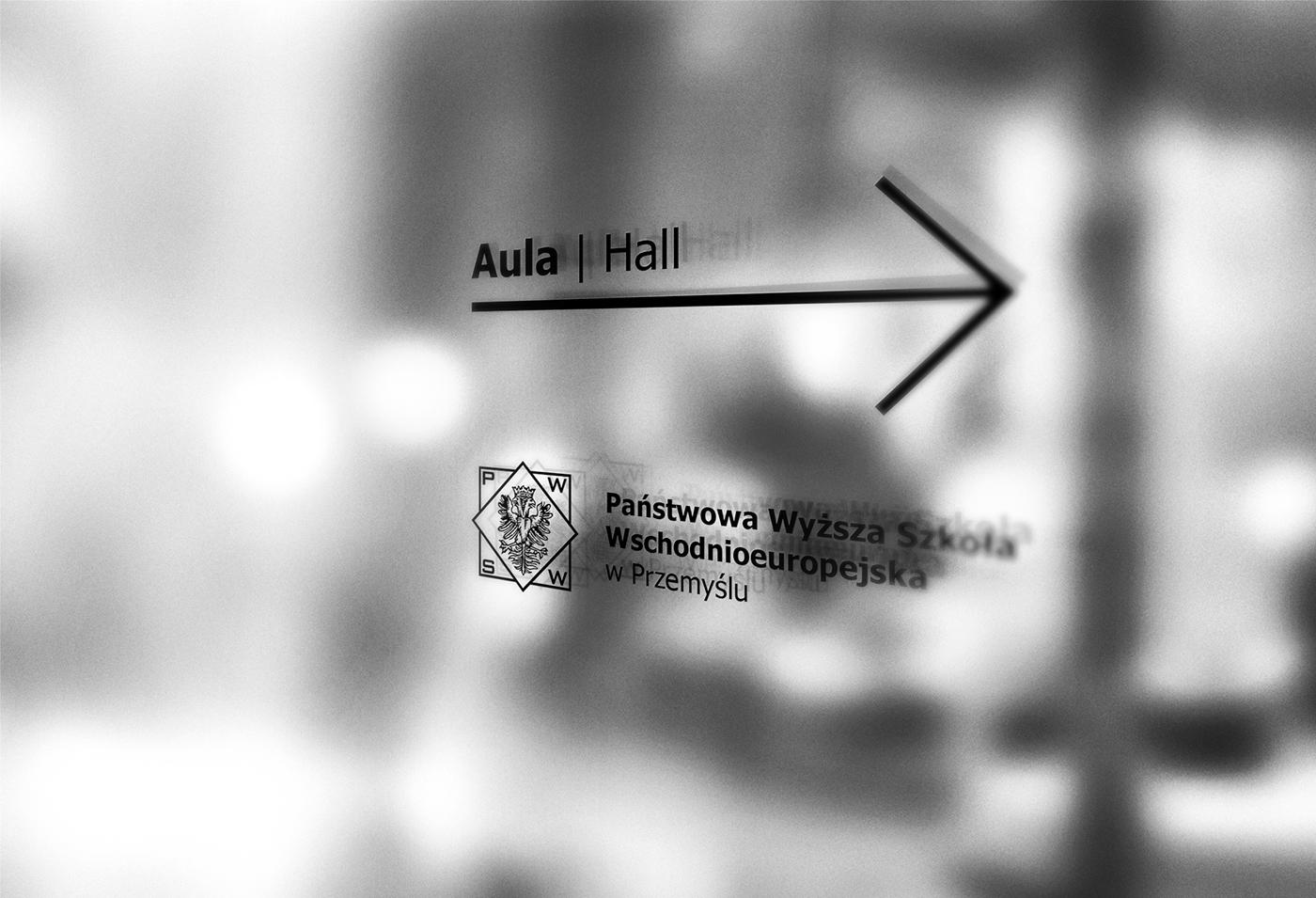Pwsw wayfinding identyfikacja wizualna ID information design