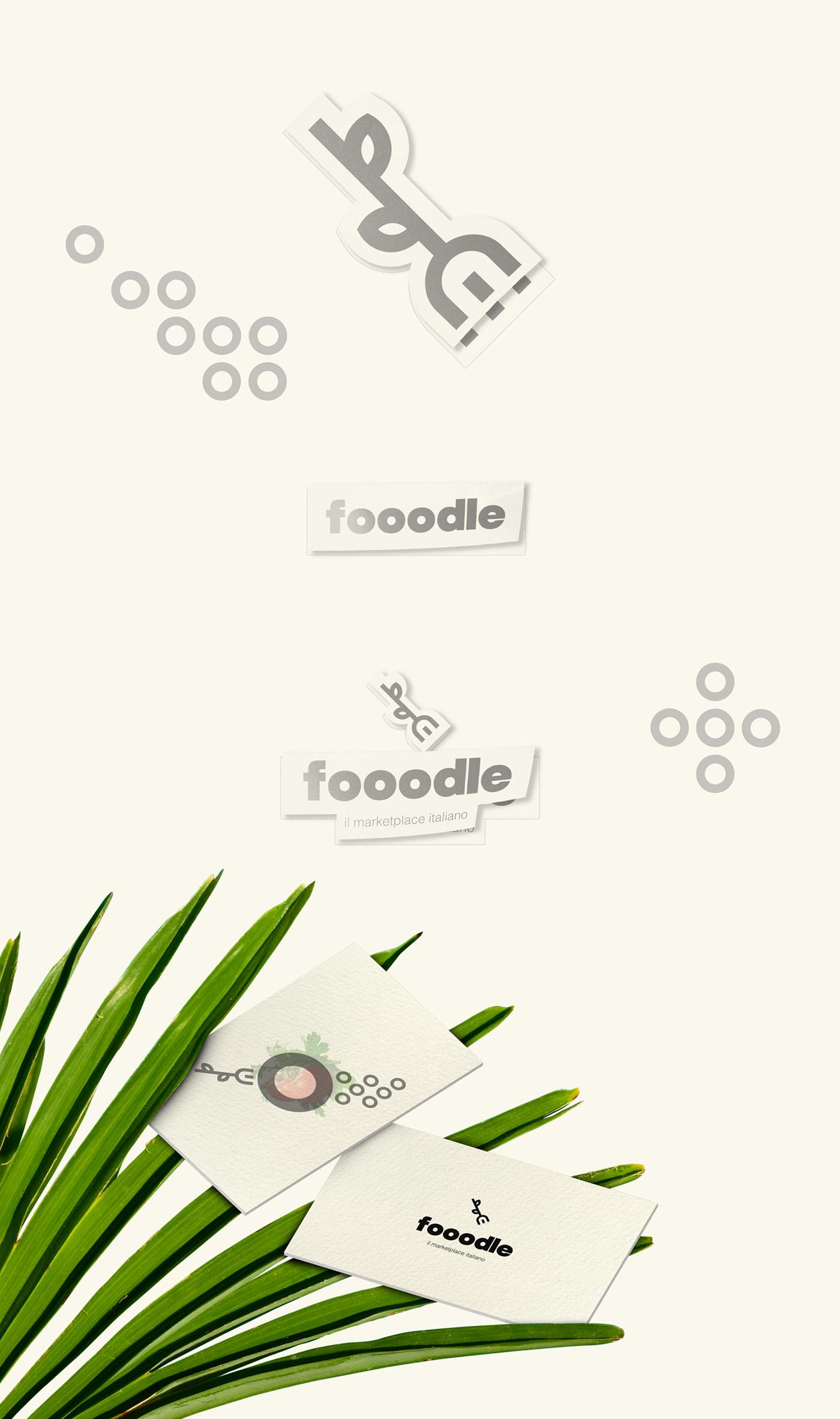 printing identity fooodle brand