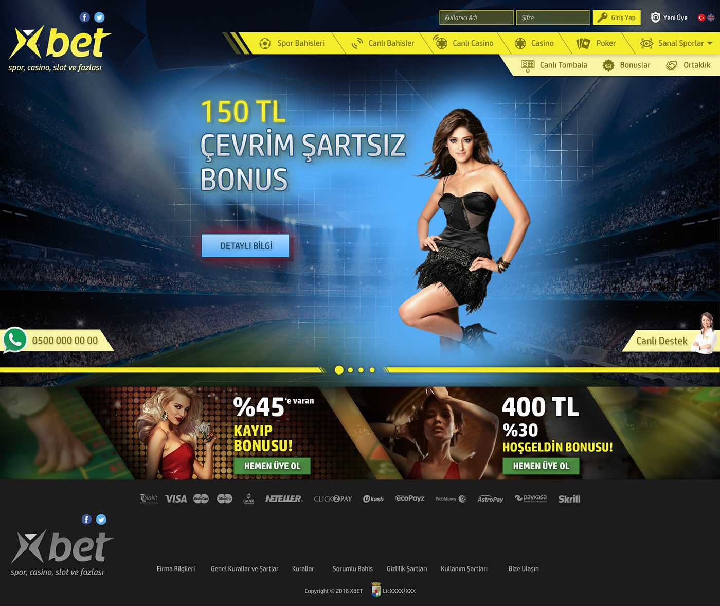 casino bet game user experience Web Design