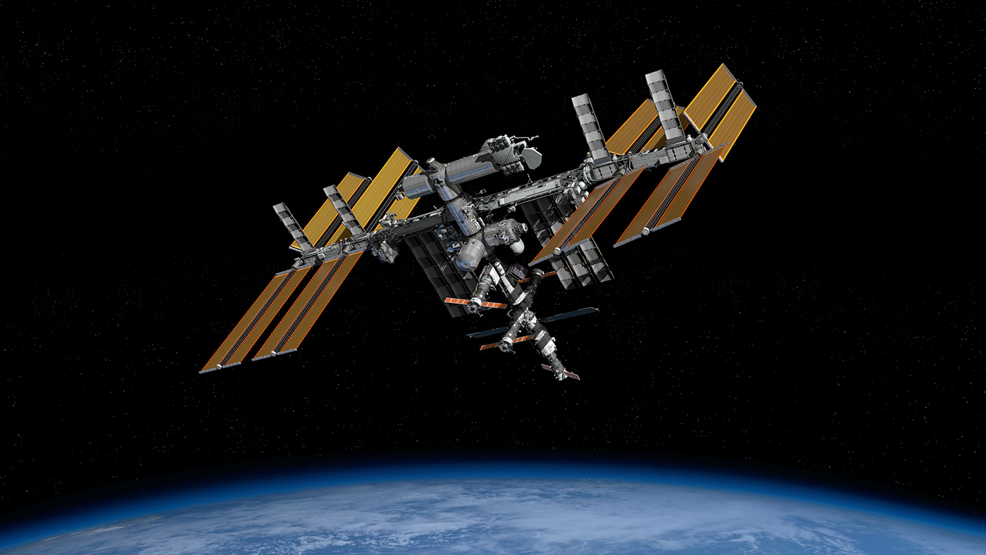 International space station iss on behance for 11547 sunshine terrace