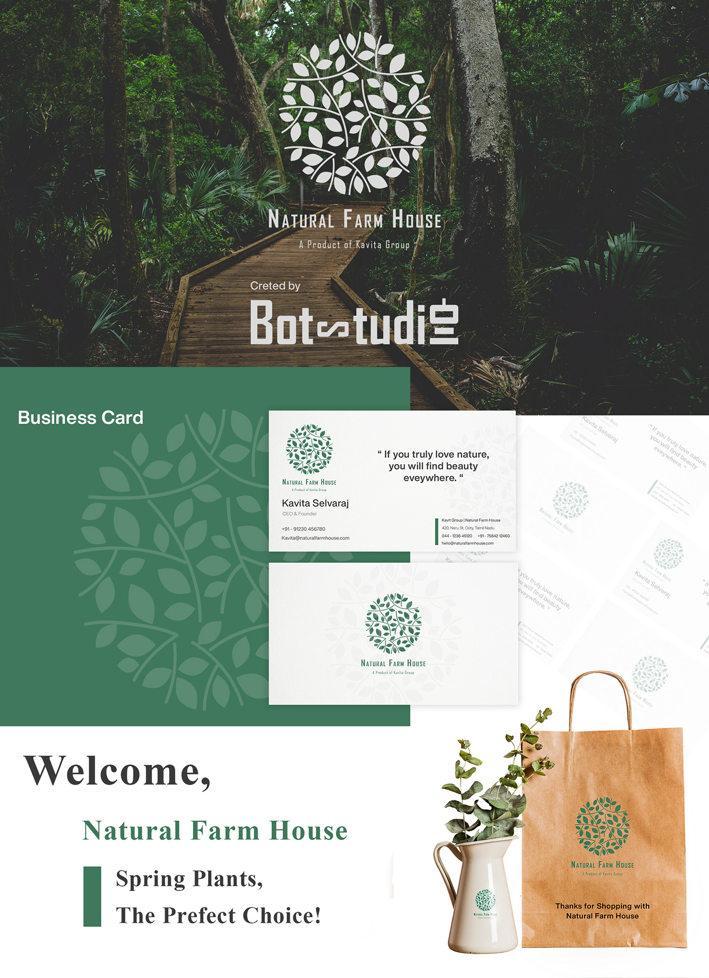 branding  design farm house graphic design  mocks plants product design  UI ux Website