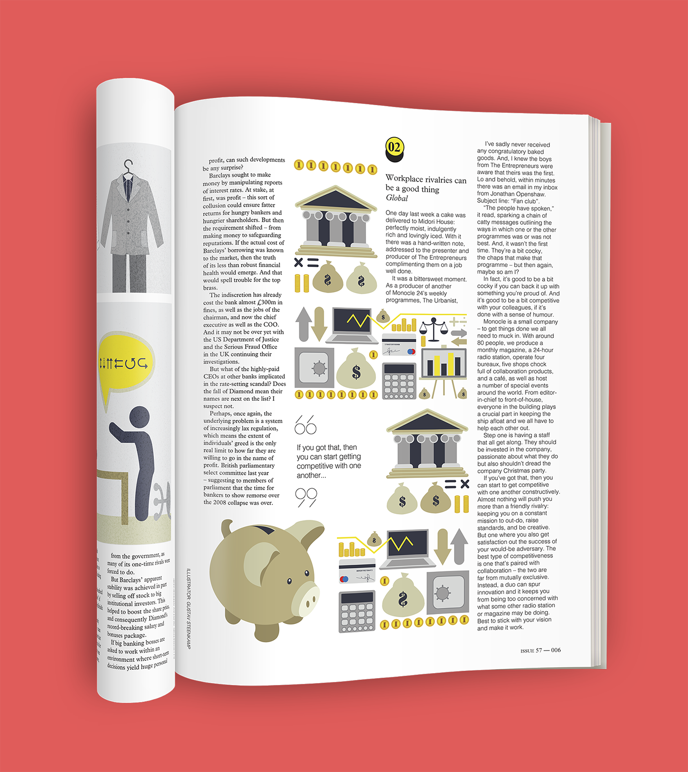 MONOCLE MAGAZINE LAYOUT on Behance