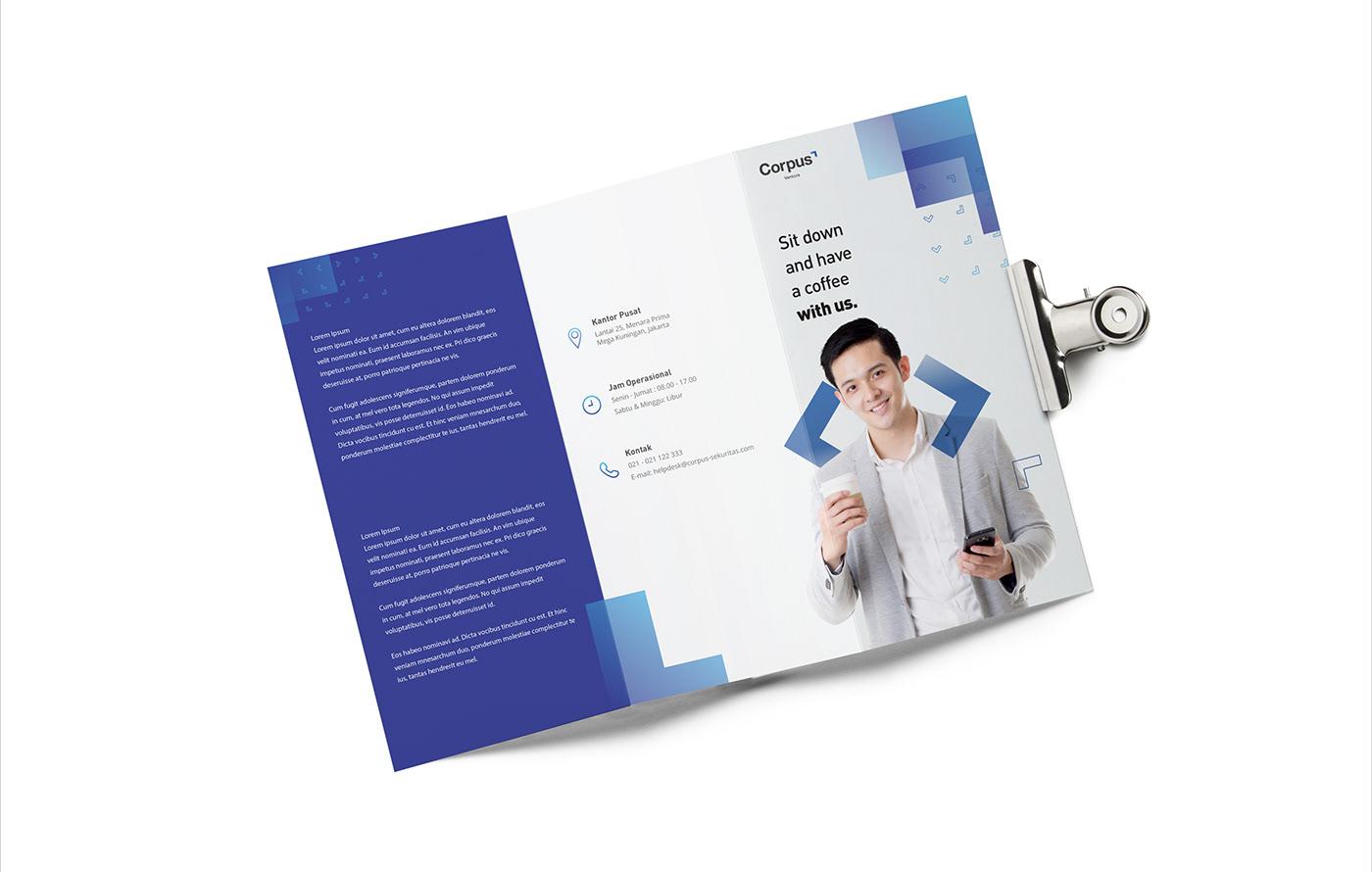 asset brand identity branding  editorial financial group logo Secure social media ventura visual identity