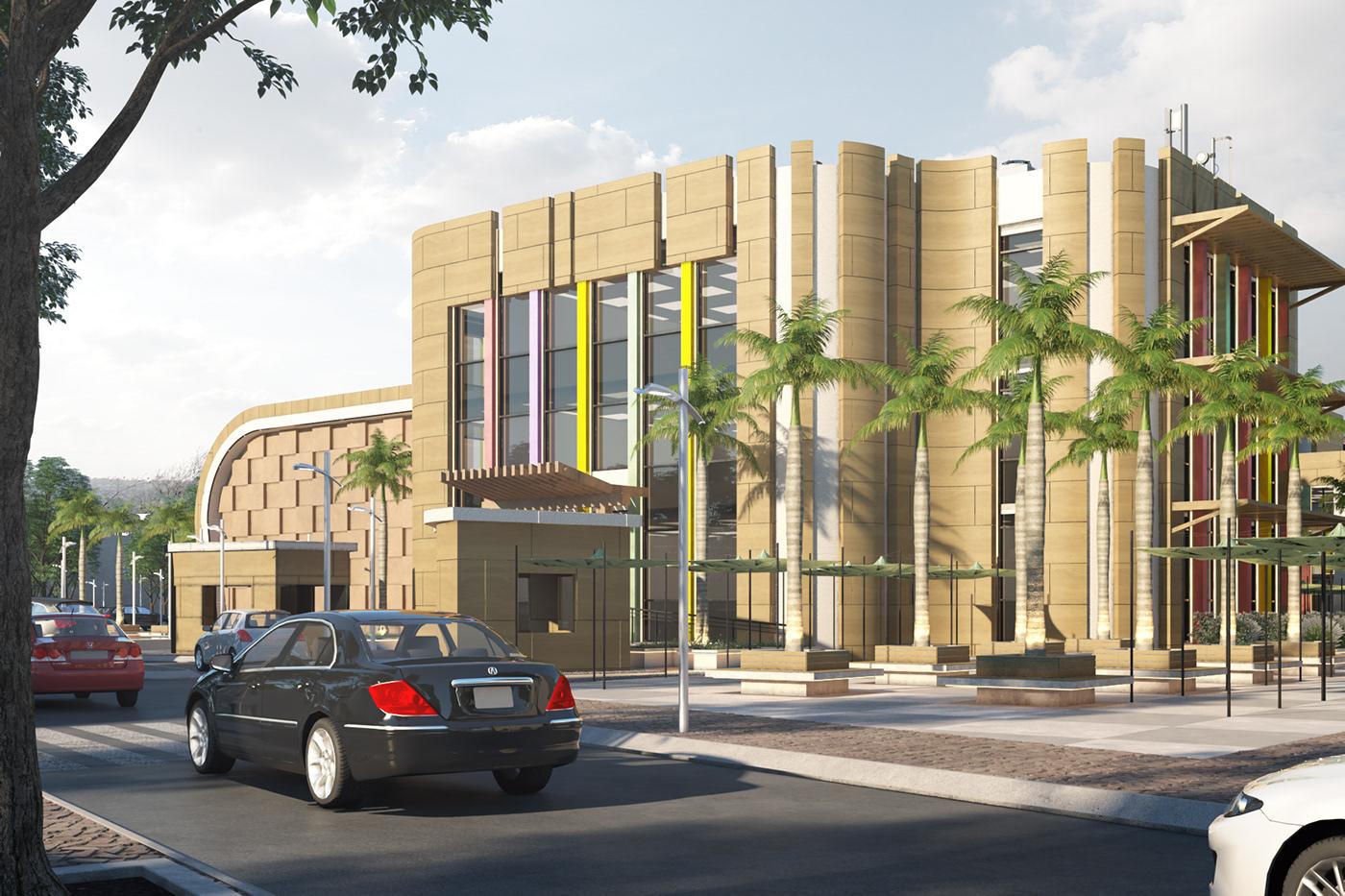 architecture exterior design exterior design creative decor modern art Style Motaz mostafa