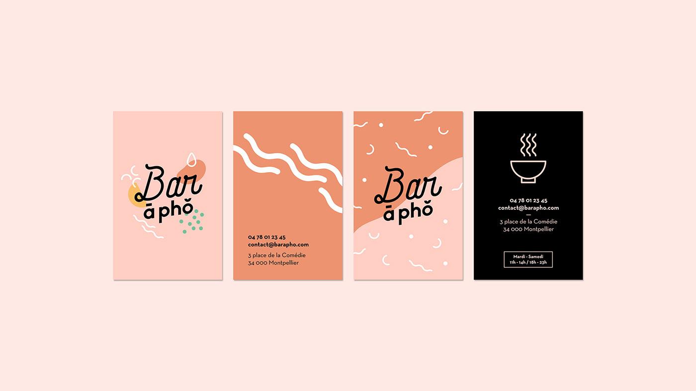 Bar A Pho On Behance