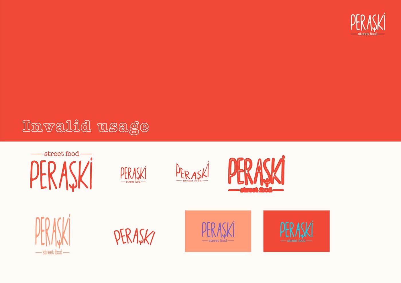 bakery branding  logo Packaging пирожки Food  pirashki fastfood Street Food doodle