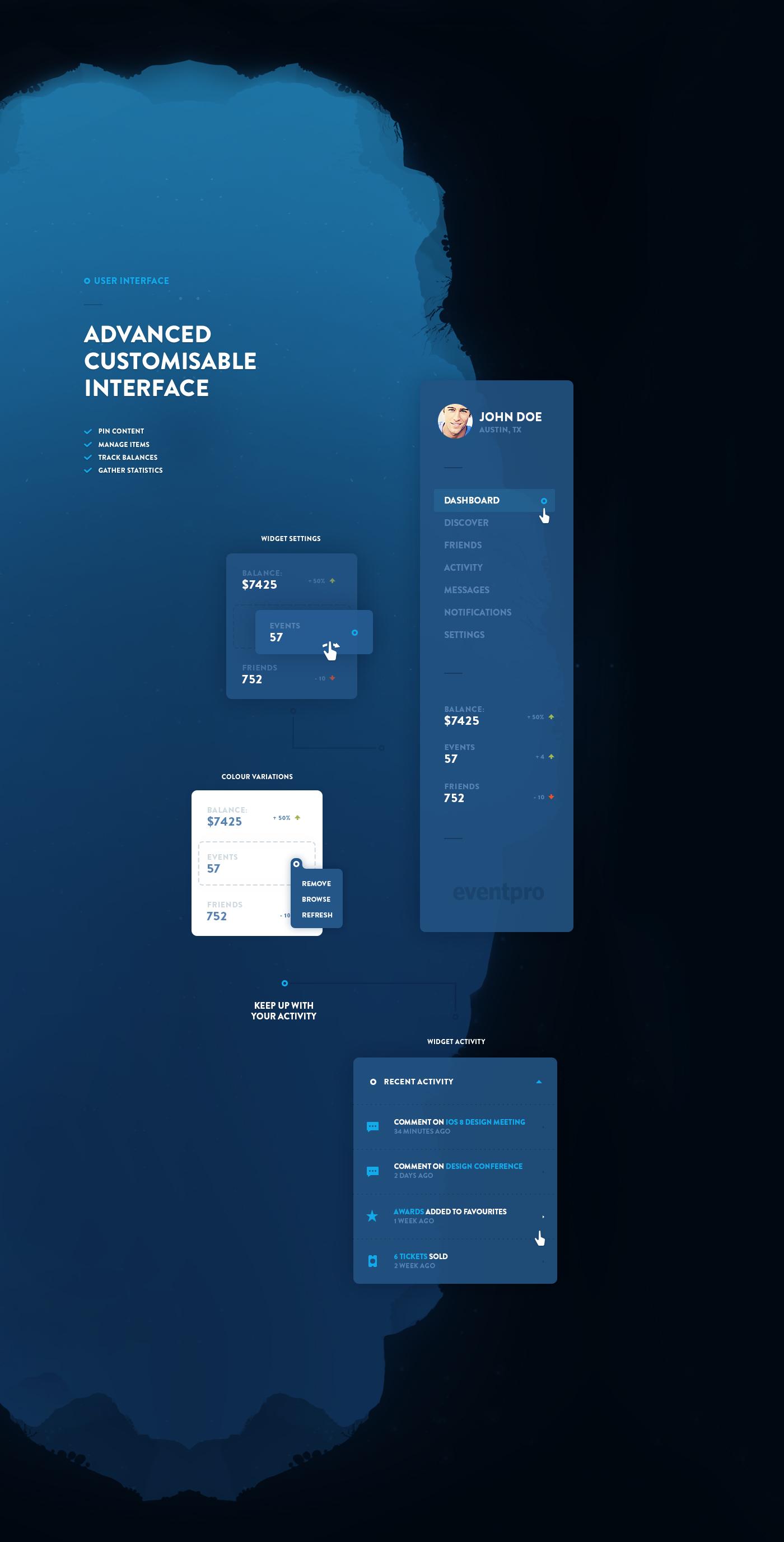 Interface freebie iphone Website Event Character ux flat Pack bundle management application Mobile app digital agency app design