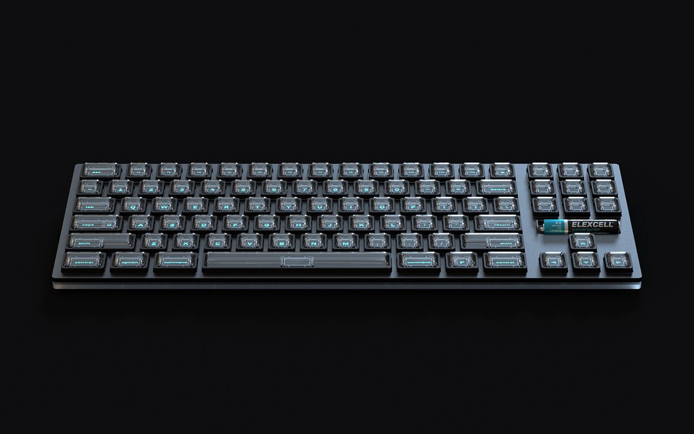 VFD Keyboard by Richard Falcema