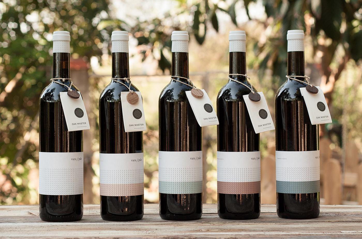 wine vino vara palo oak master grape Viña uva botella bottle brandsummit hot stamping manter Label etiqueta cork