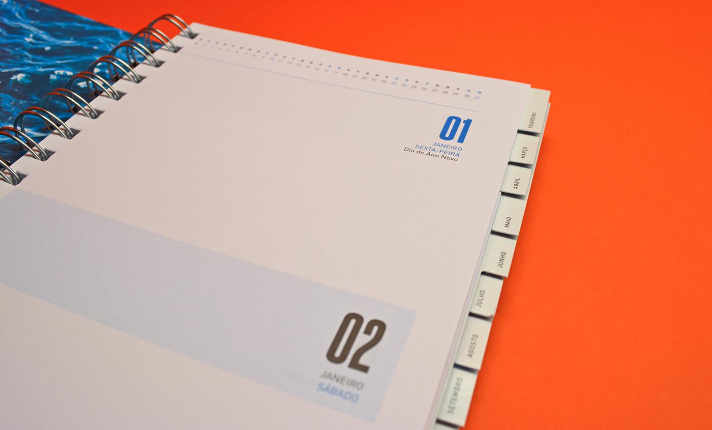 porto Luanda angola agenda calendario notebook