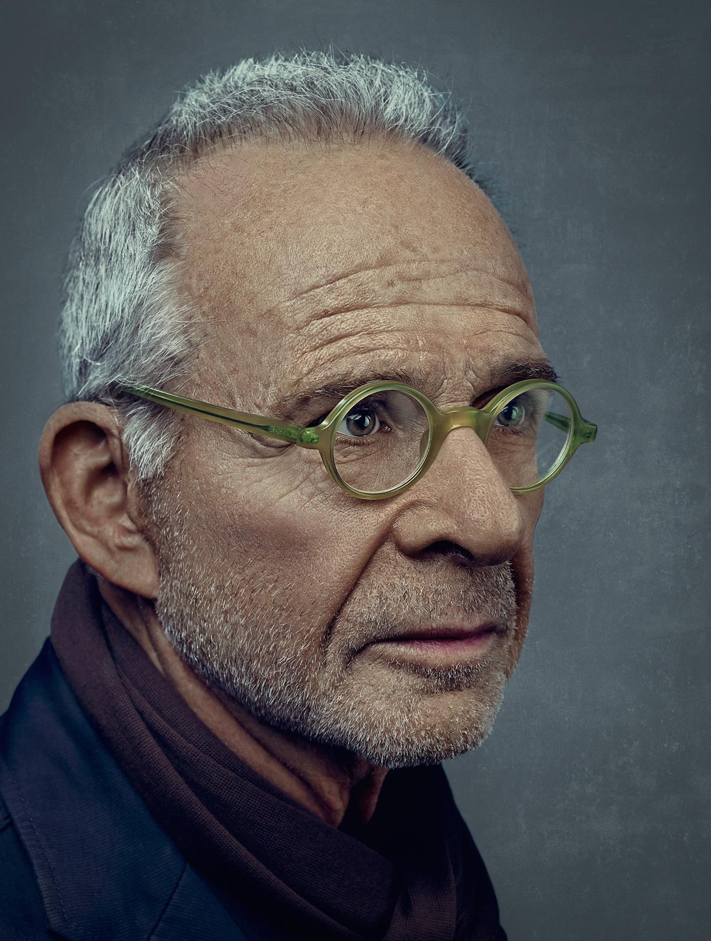Celebrity cinematic color grade conceptual environmental portraits high end retoucing portrait