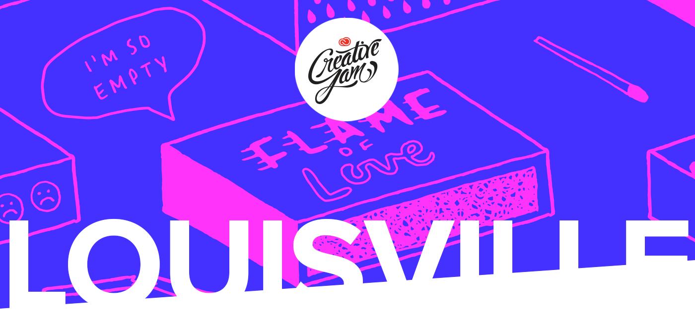 Adobe creative jam creative jam Competition louisville Creative Cloud Thomas Merton