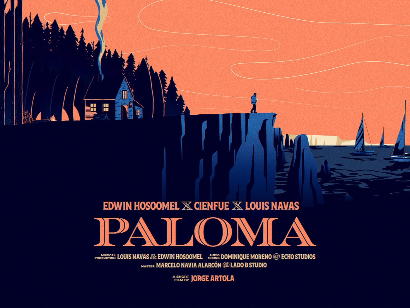short film,paloma,music video,Videoclip,panama,madrid,hamburg,Edwin Hosoomel,cienfue,Louis Navas