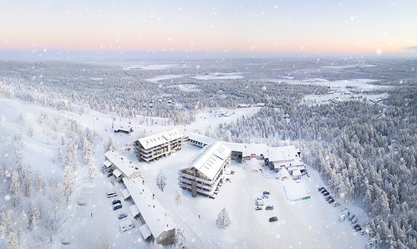 3D archviz finland lithuania pyha visualization
