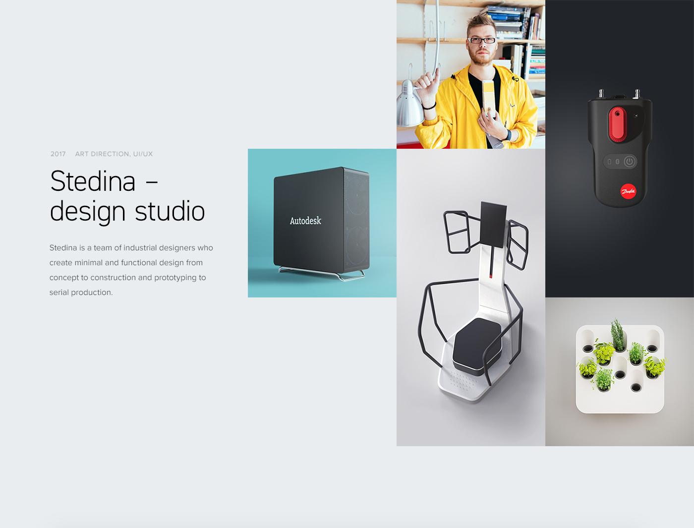 Web portfolio studio product design  industrial design  ux Case Study brand digital