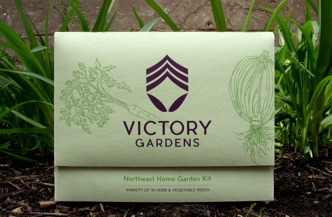 Victory Gardens On Behance