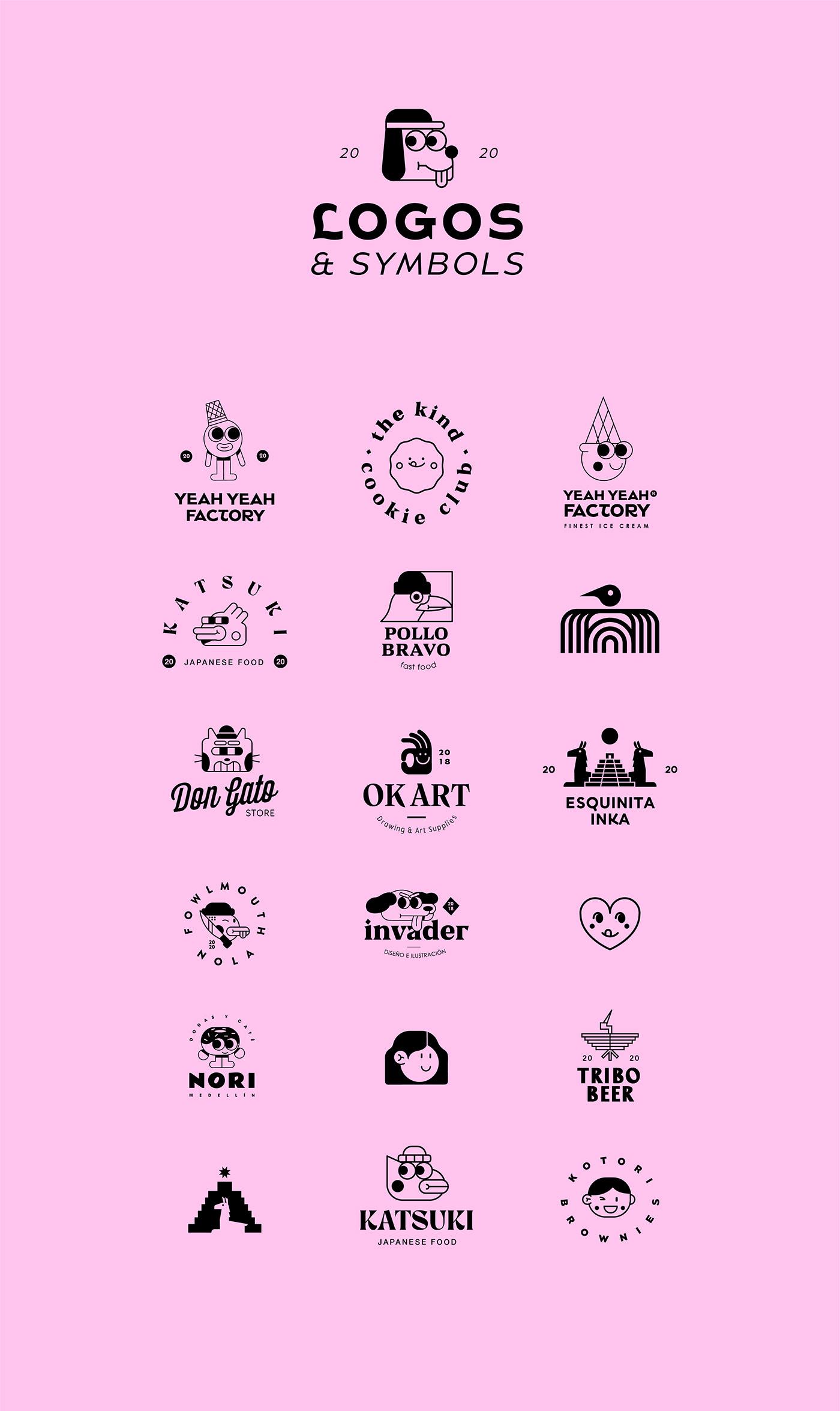 branding  design diseño diseñografico graphicdesign Icon identity logo Logotipo symbols