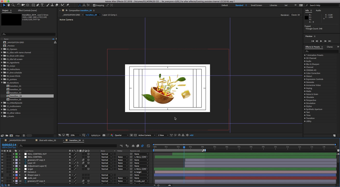 Cooking YouTube | After Effects and Premiere Pro on Student Show