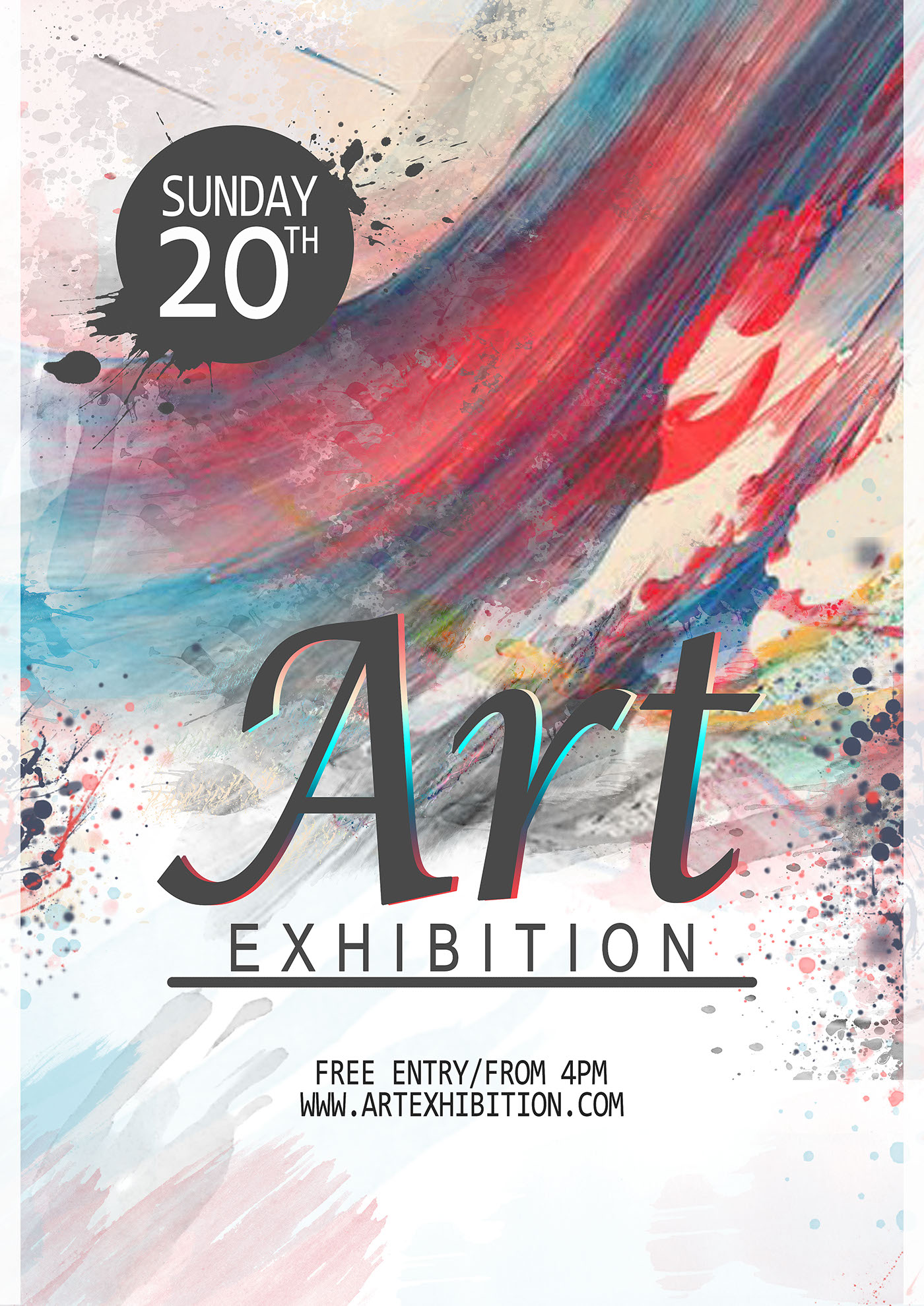 art and design poster