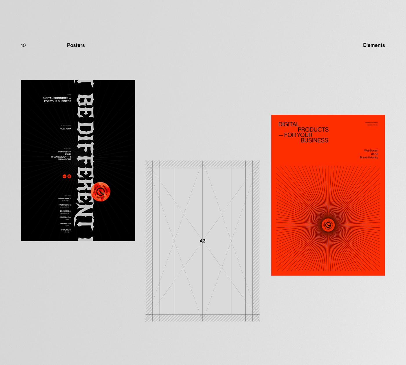 animation  design graphic design  grid identity logo minimal Website