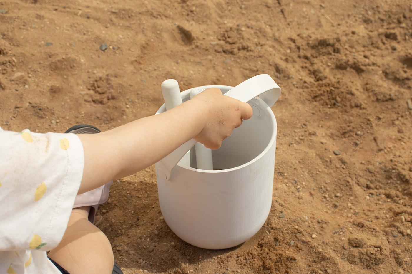 bucket house kids sand spade toys