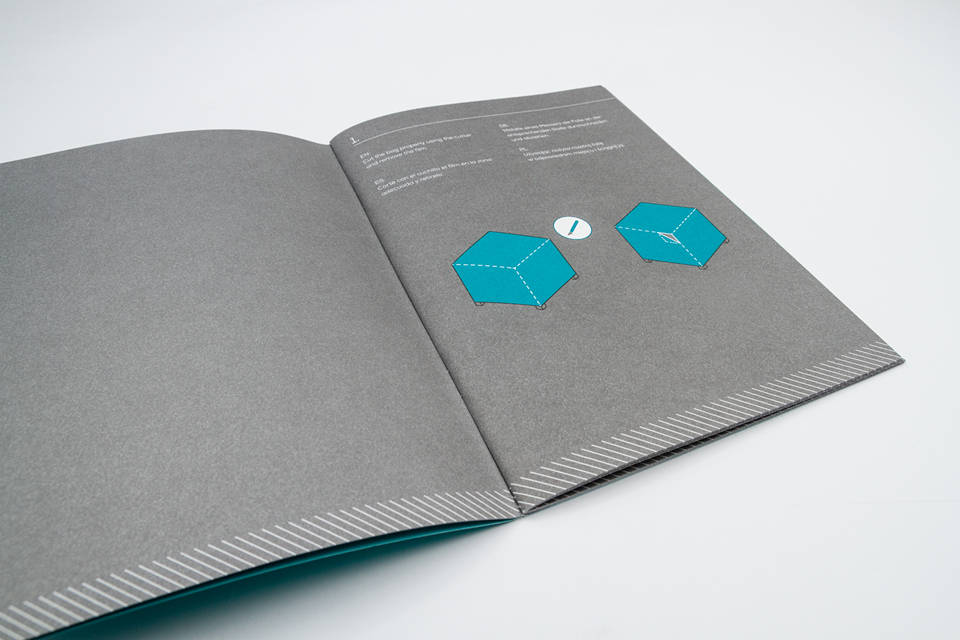 brochure infographic technical illustration icons pictograms print minimalistic linear