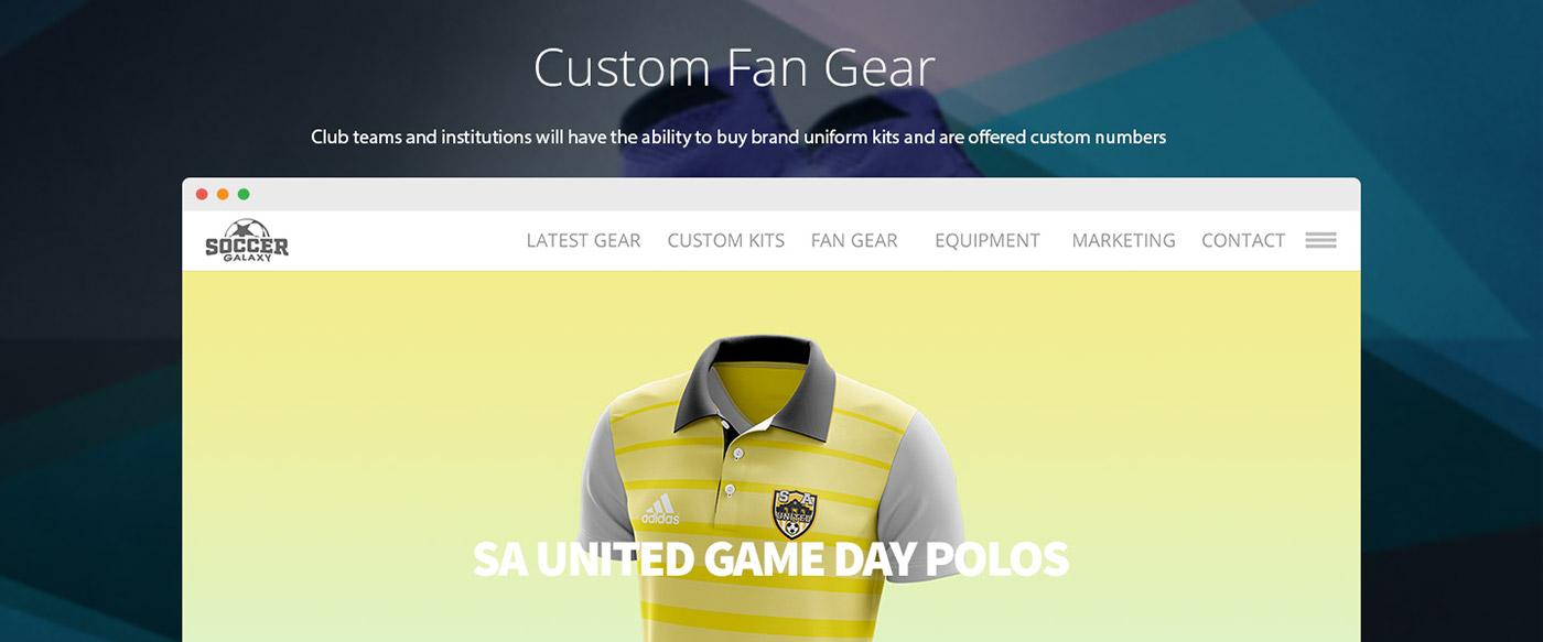 Soccer Galaxy Website