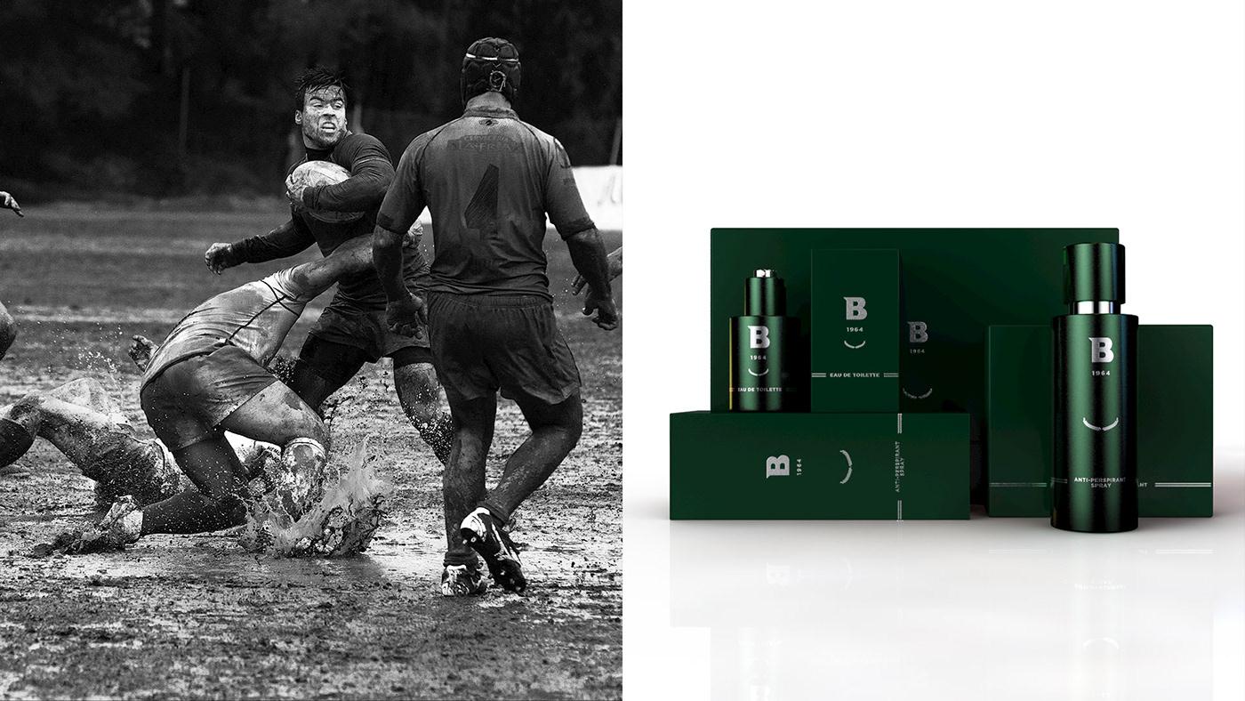 logo Packaging perfume visual identity