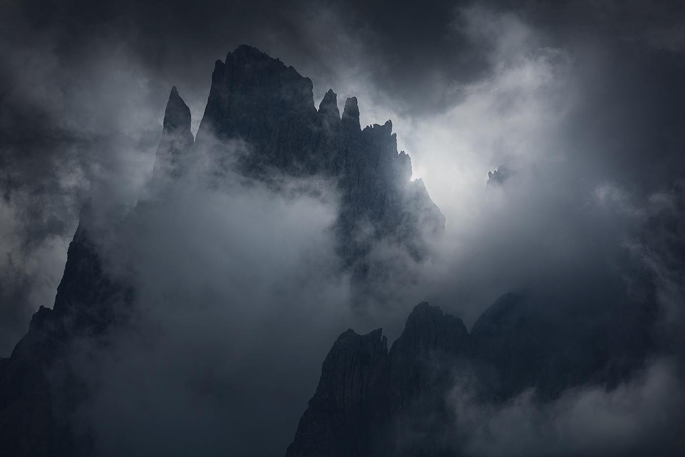 Image may contain: smoke, sky and fog
