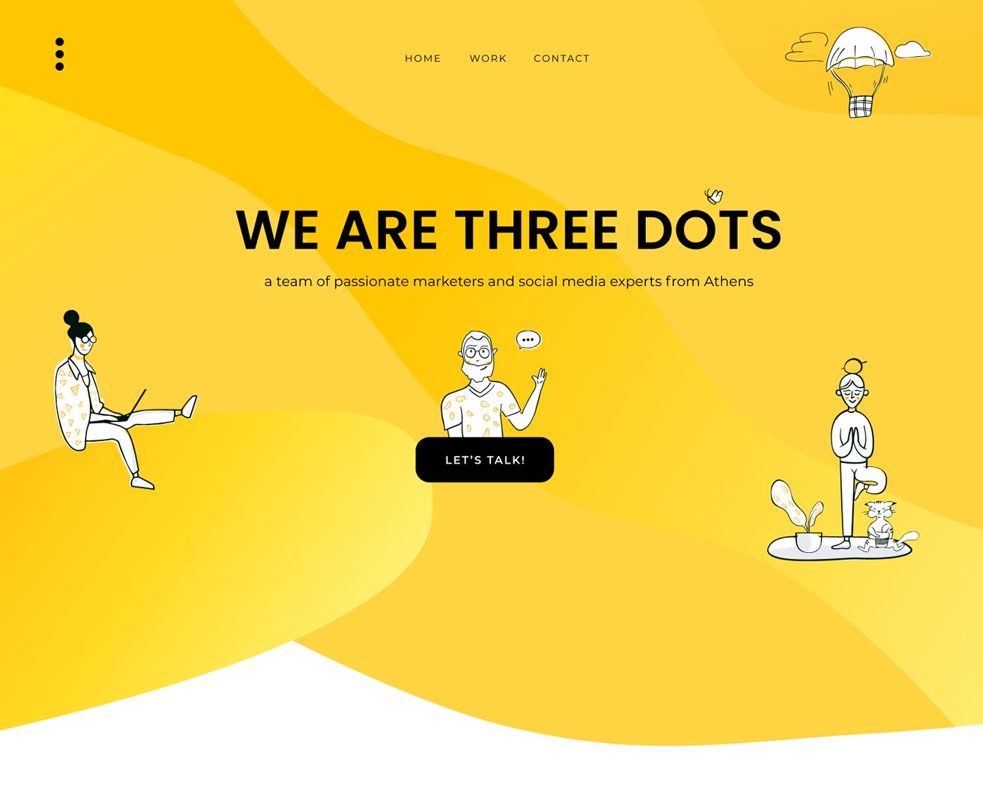 pitch deck Web Design  Website ui design UX design
