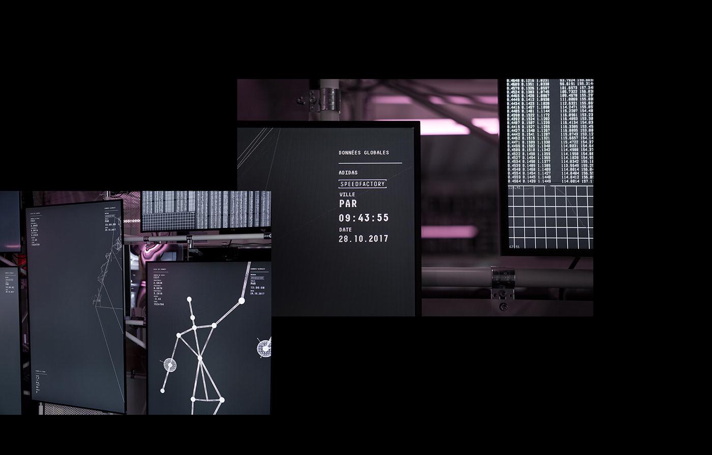 Adidas speedfactory activación 2018 en behance